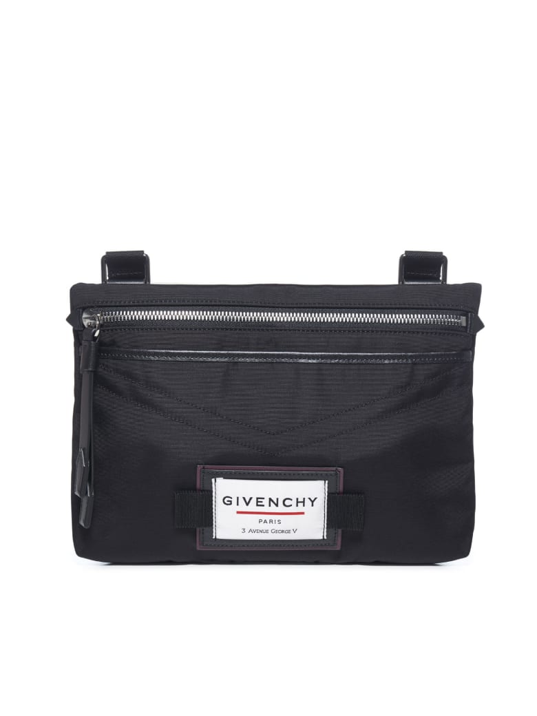 Givenchy Downtown Flat Cb Shoulder Bag - Black