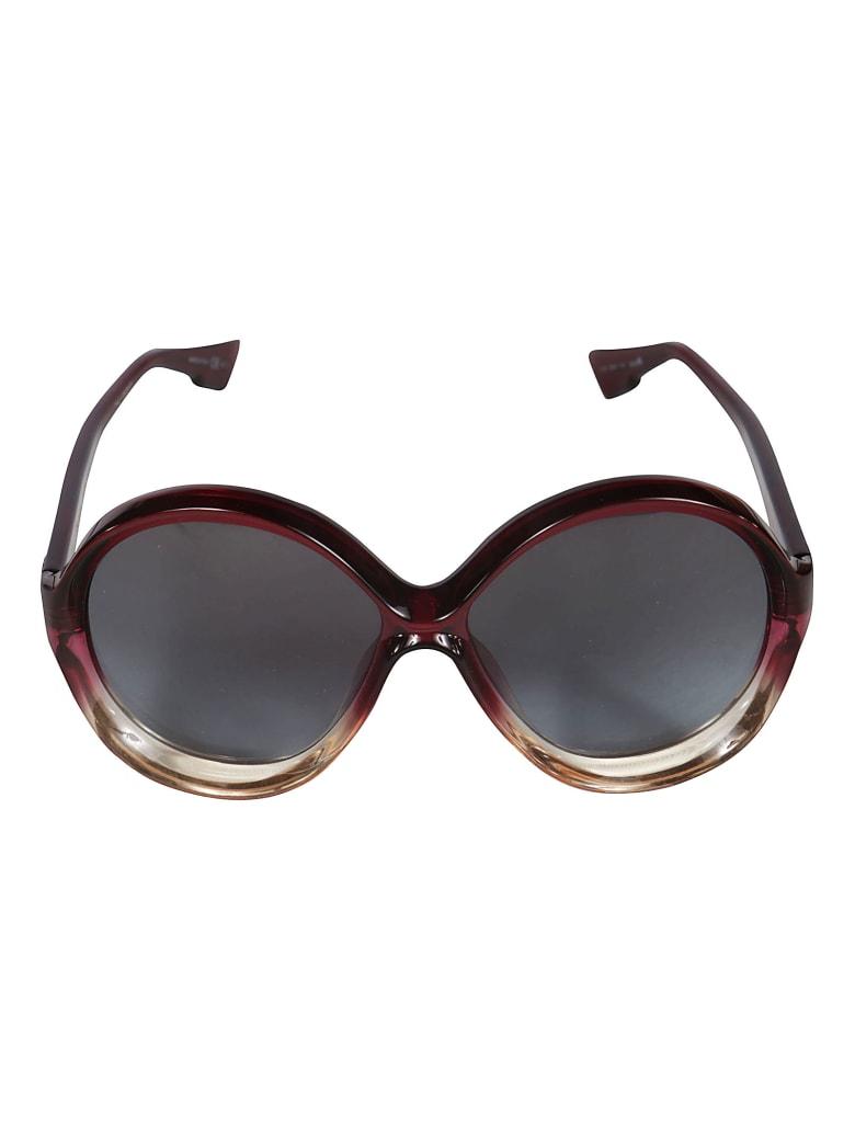 Christian Dior Round Sunglasses DiorBianca - Red