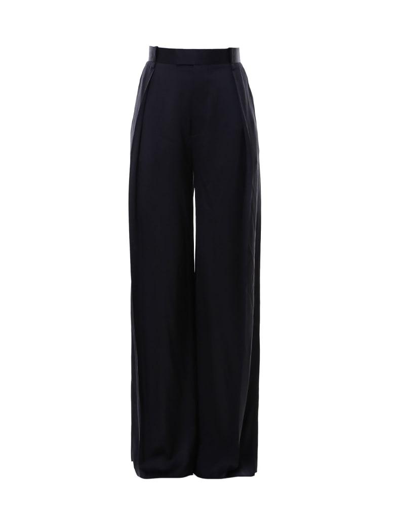Bottega Veneta Pants Fluid Raso Trousers - Black