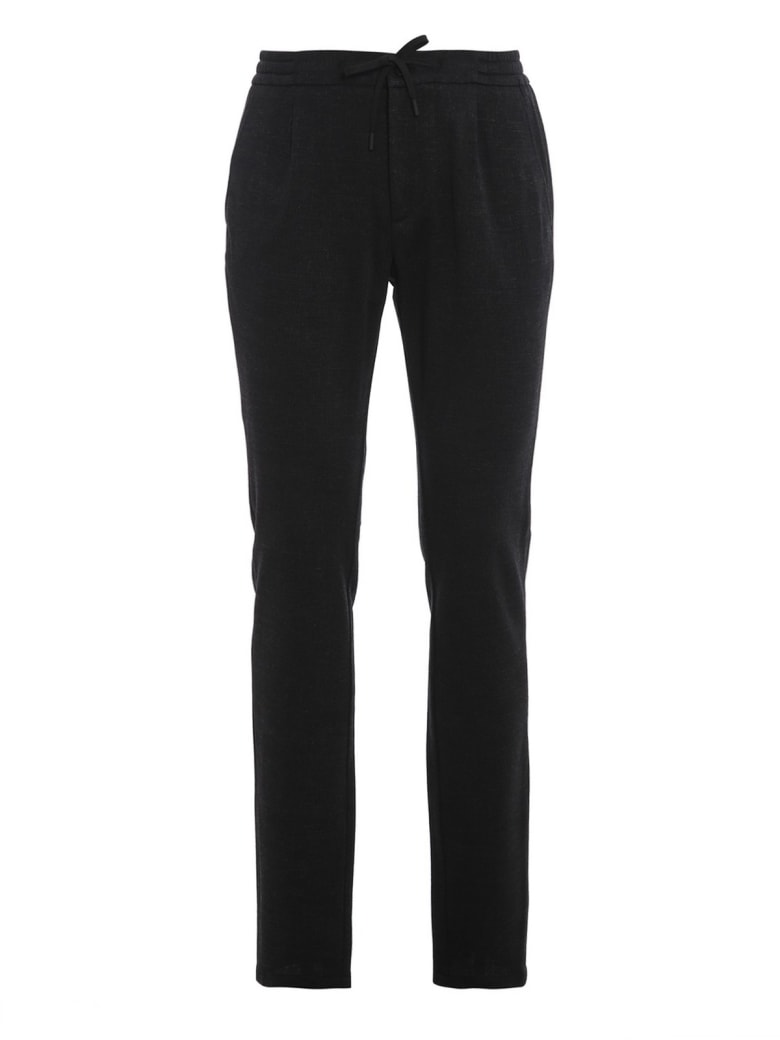 Canali Trousers - Black