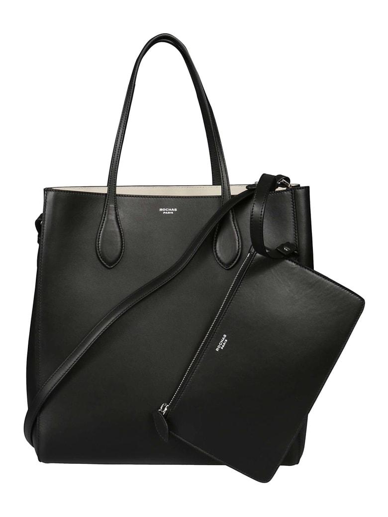 Rochas Classic Shopper Bag - Black