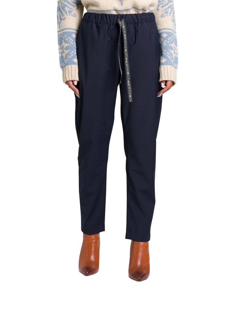 SEMICOUTURE Buddy Pants - Blu