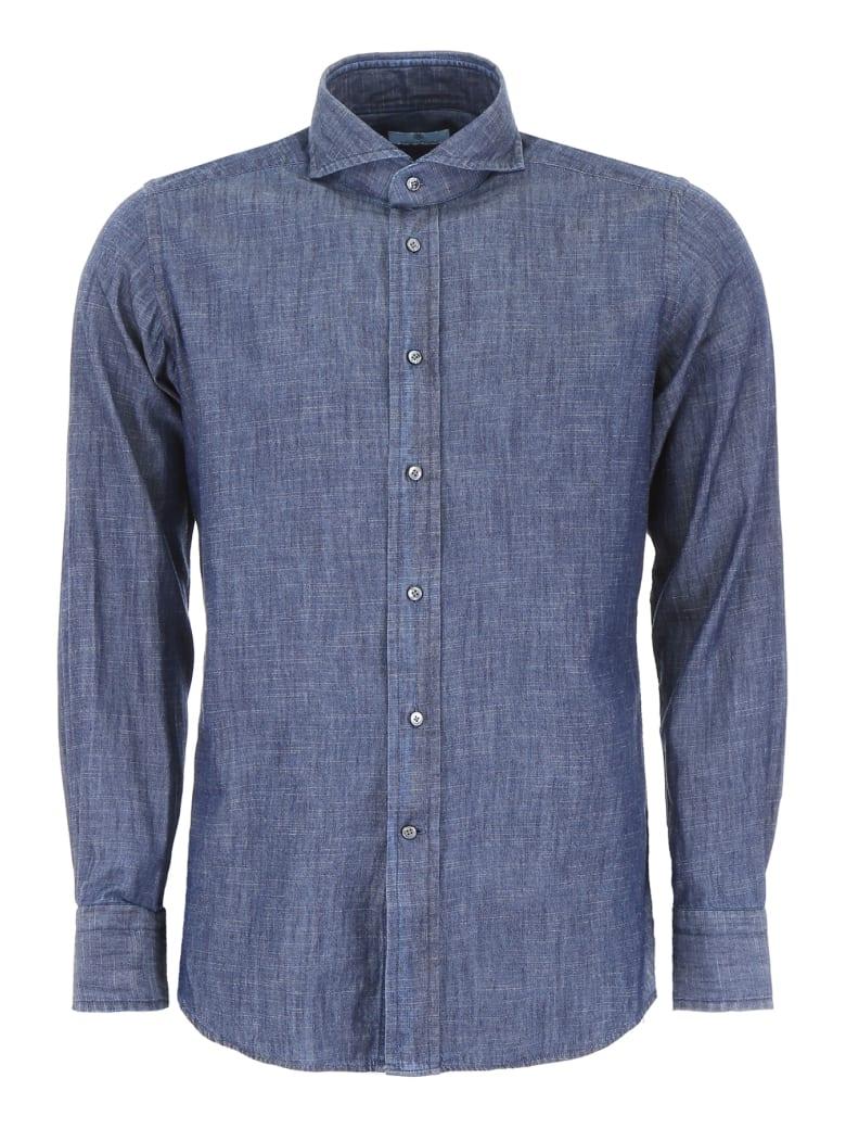 Tagliatore Covent Shirt - BLUE (Blue)