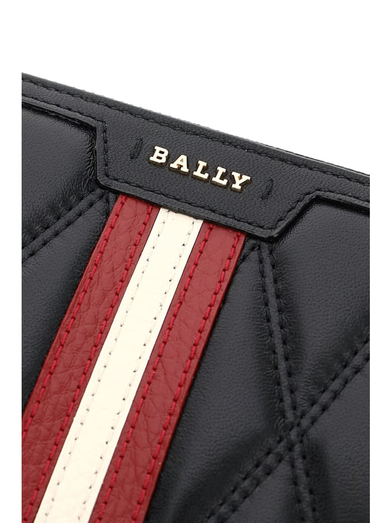 Bally Dalen Quilted Wallet - BLACK (Black)