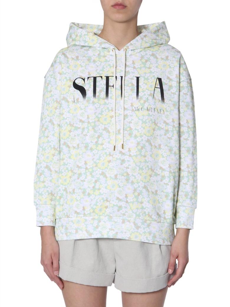 Stella McCartney Floral-print Sweatshirt - VERDE