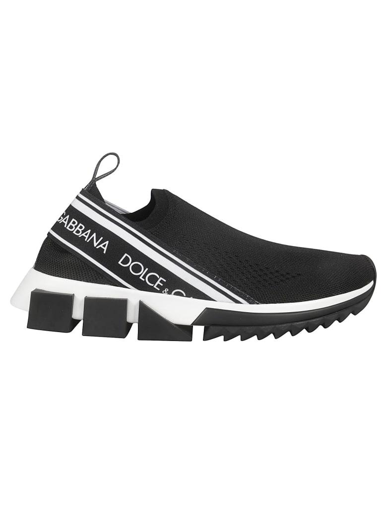 Dolce & Gabbana Atletica Slip-on Sneakers - Black
