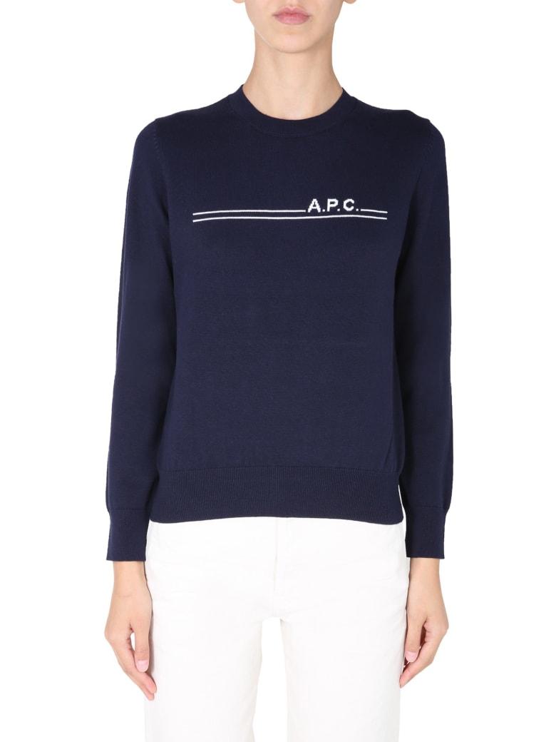 A.P.C. Eponyme Sweater - BLU