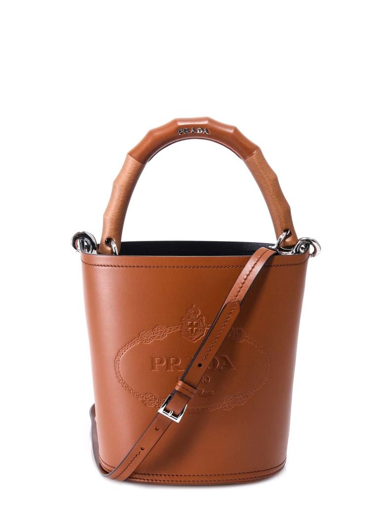 Prada Bucket Bag - Brown