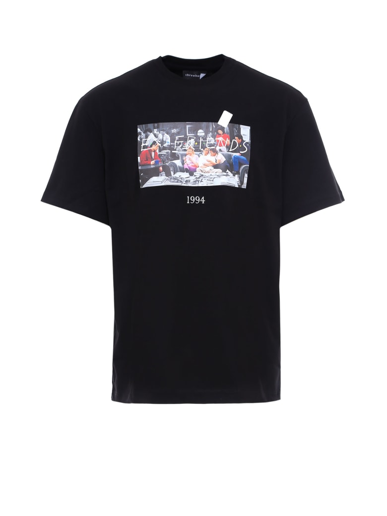 Throwback Friends T-shirt - Black