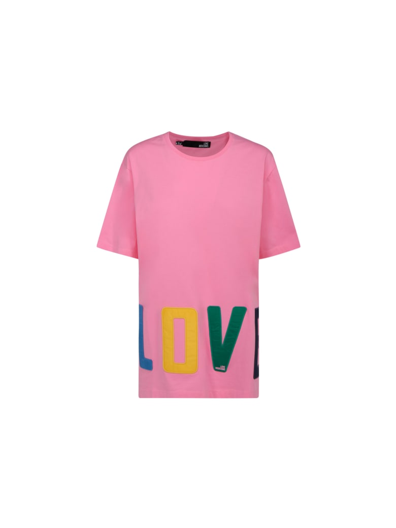 Love Moschino T-shirt - Rose