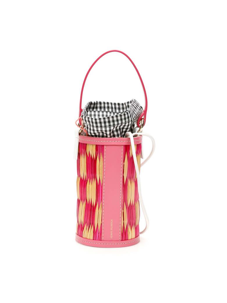 Heimat Atlantica Cupido Cylindrical Bucket Bag - NATURAL FUCHSIA (Beige)