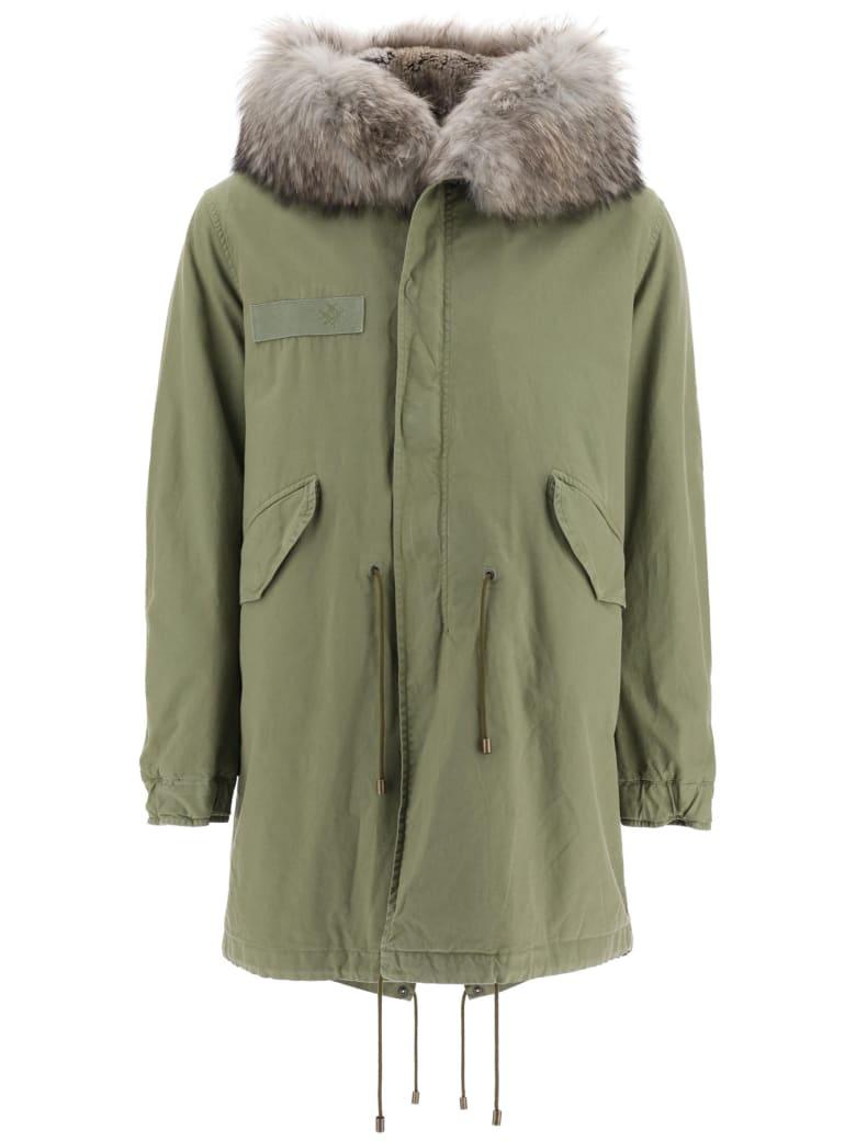 Mr & Mrs Italy Army Parka Murmasky Fur - ARMY NATURAL GREY (Khaki)