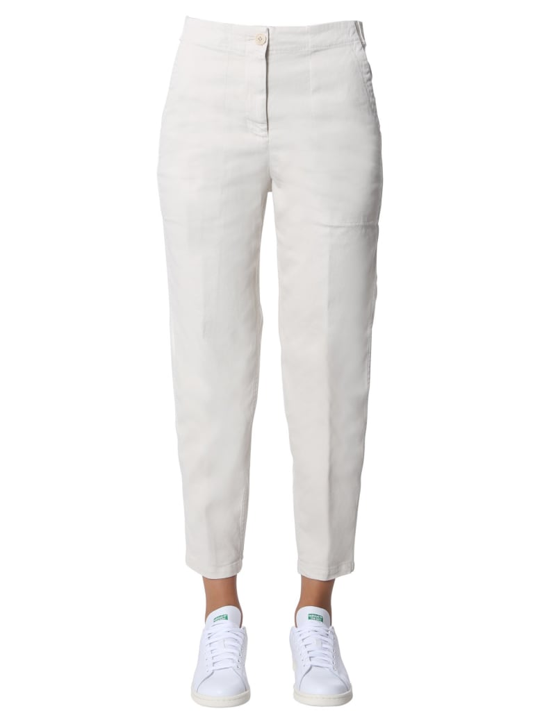 Aspesi Regular Fit Pants - BIANCO