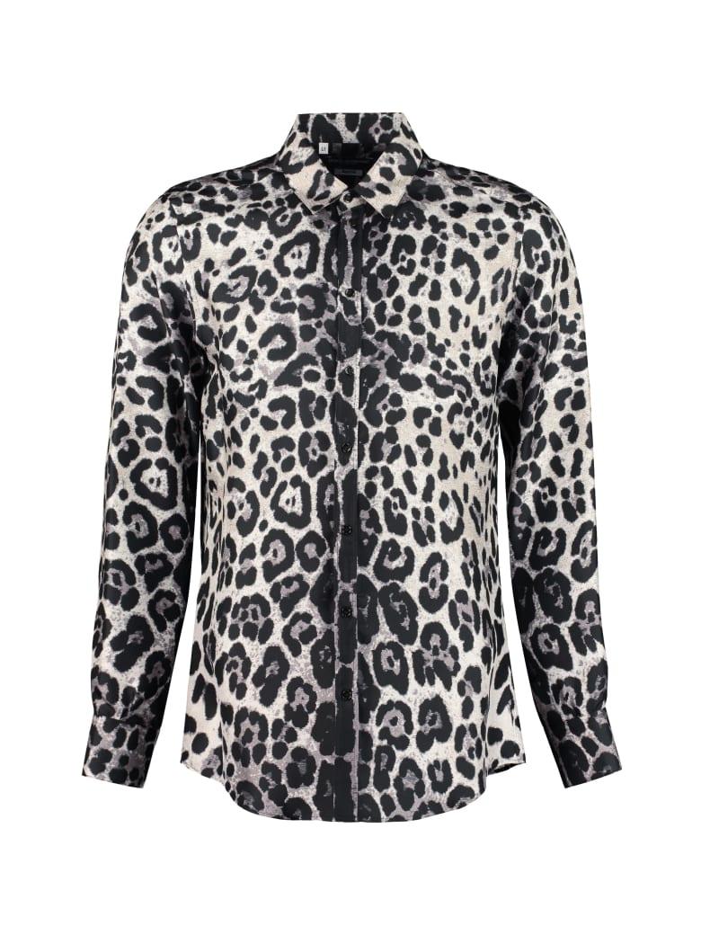 Dolce & Gabbana Printed Silk Shirt - Animalier