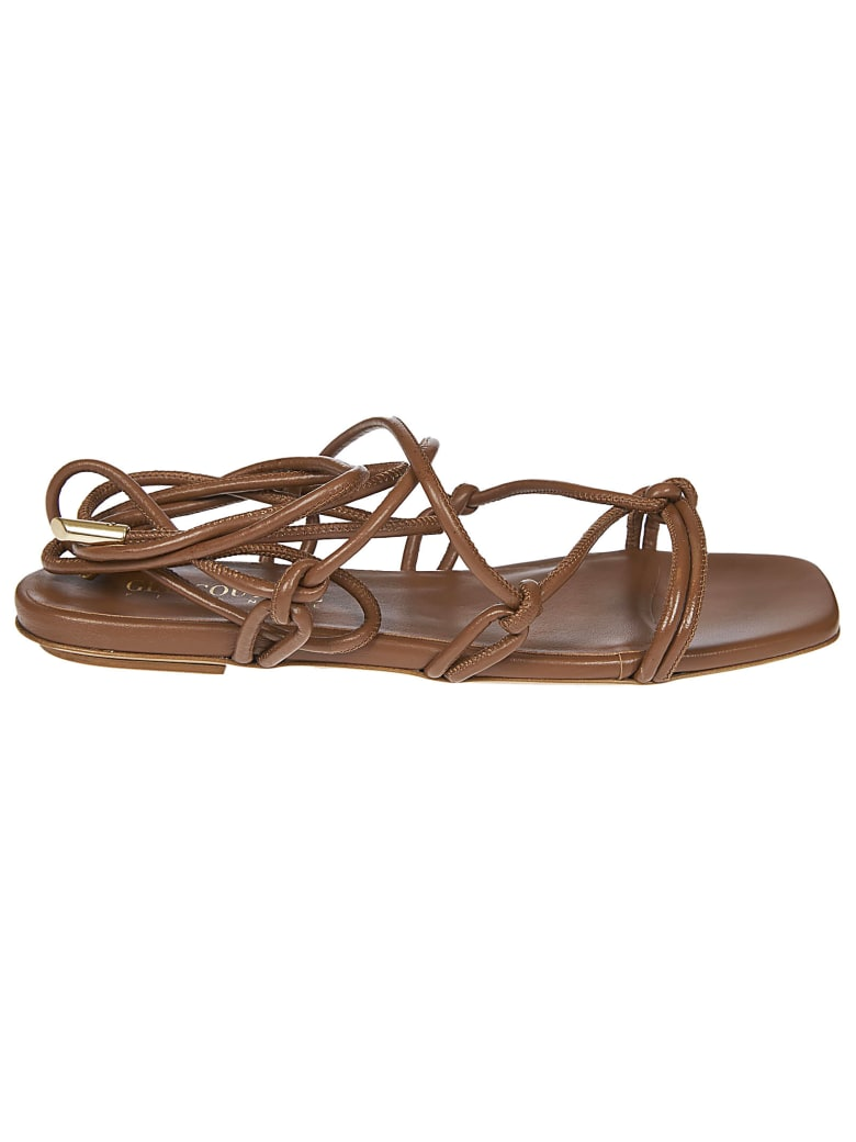 GIA COUTURE Bella Sandals - Brown
