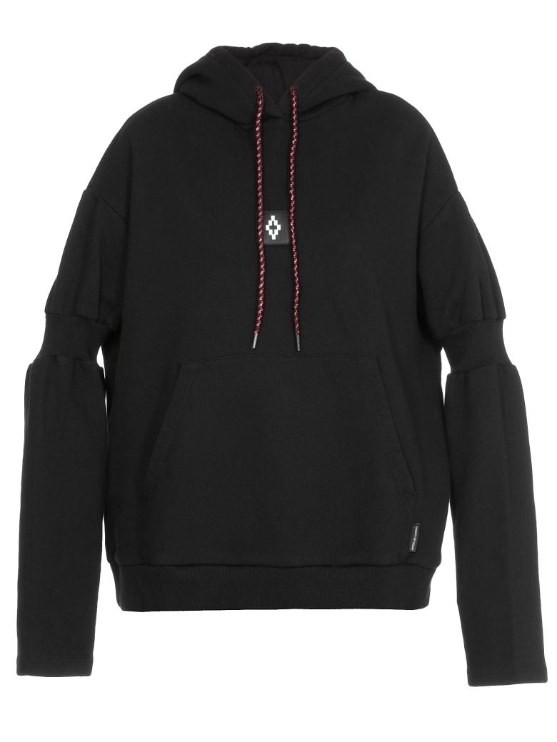 Marcelo Burlon Cotton Sweatshirt - BLACK WHITE