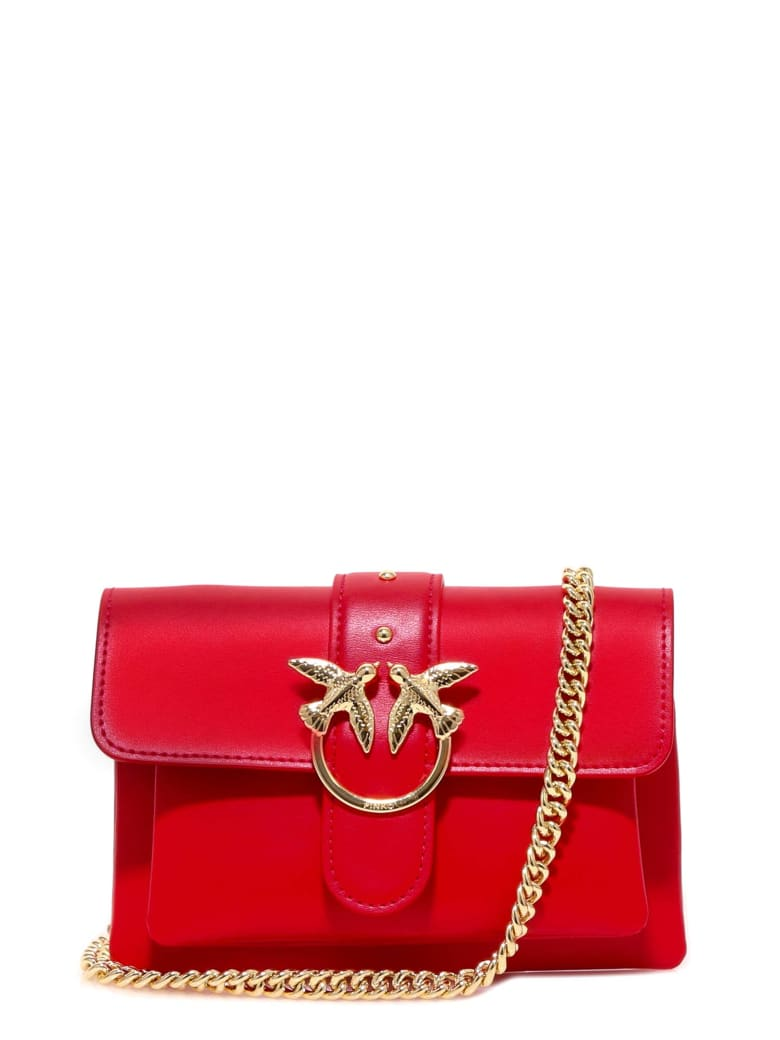 Pinko Shoulder Bag - Red