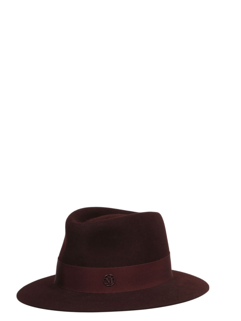 Maison Michel Hat - Red