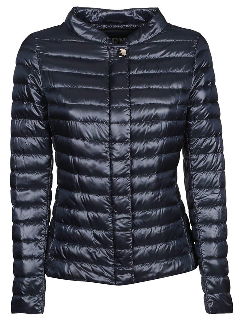 Herno High Neck Padded Jacket - Blu