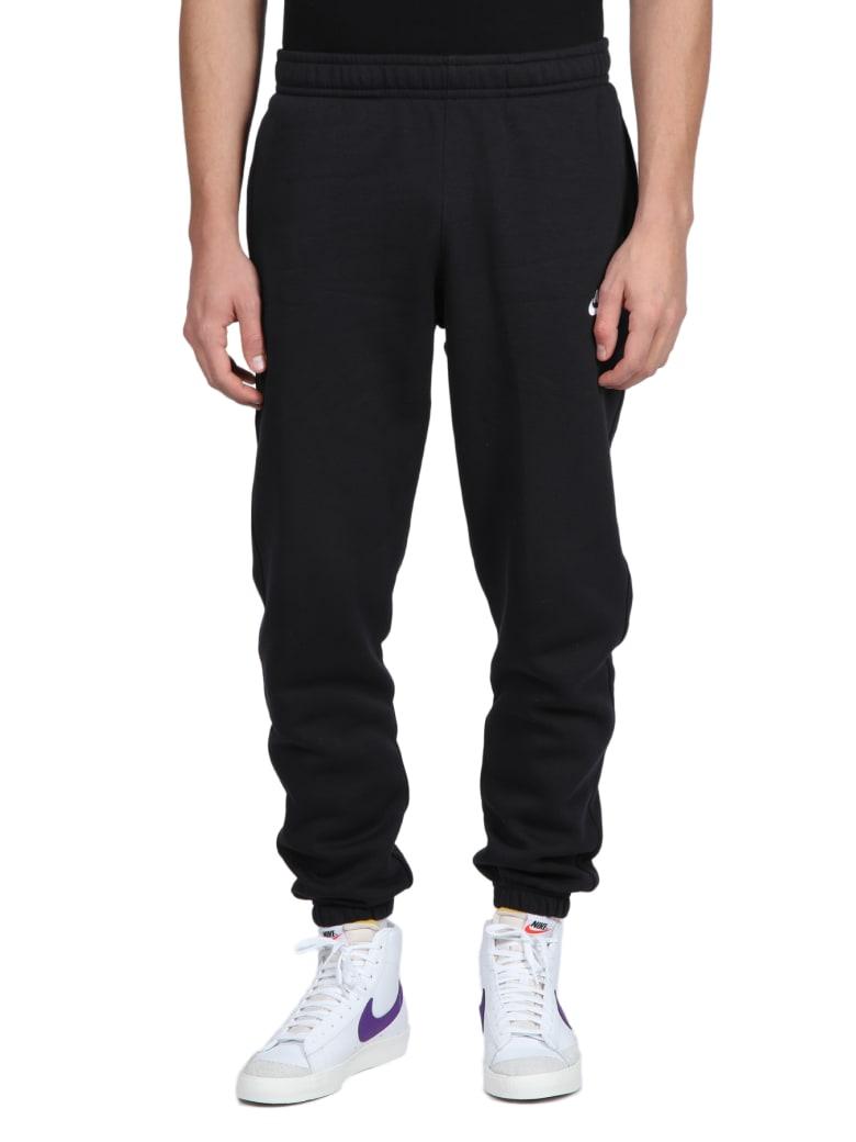 Nike Logo Sweatpants - Nero/bianco