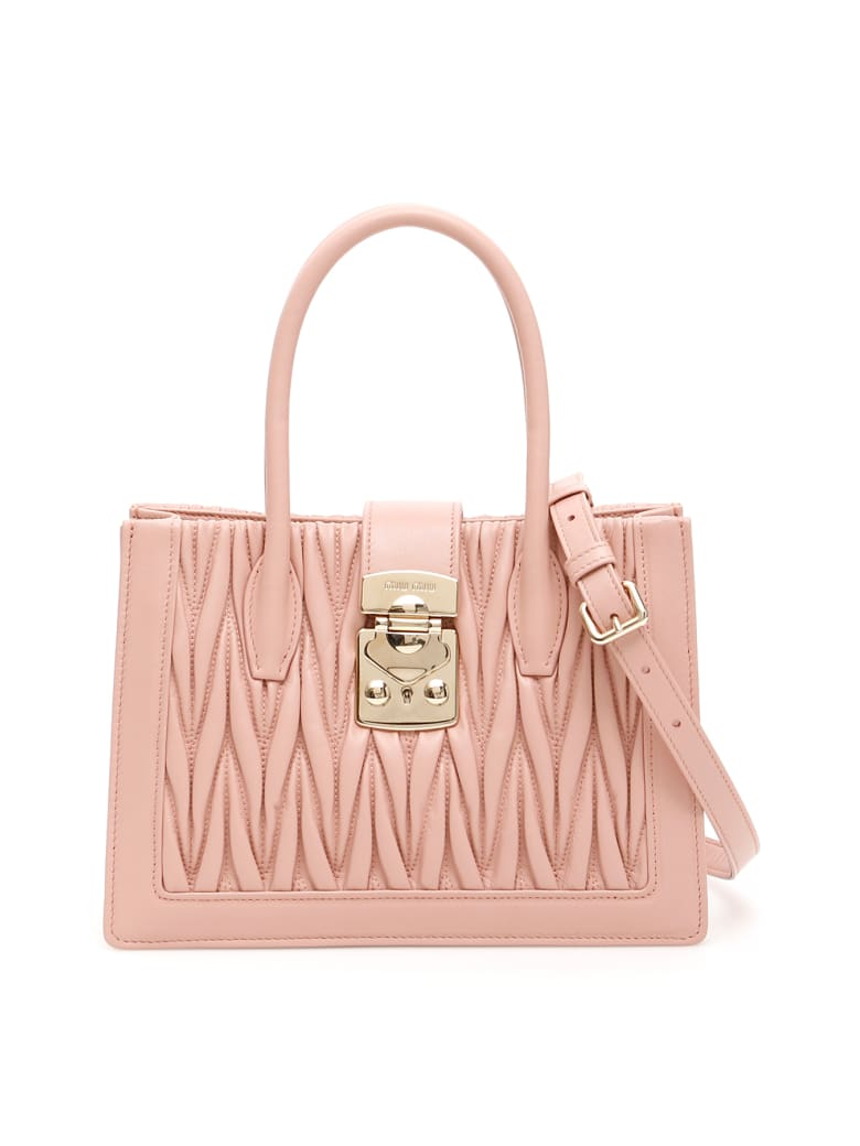 Miu Miu Miu Confidential Bag - ORCHIDEA (Pink)