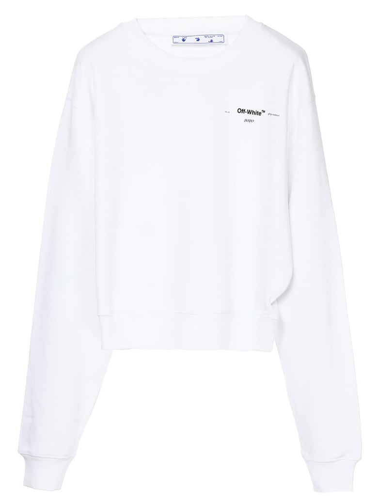 Off-White 'arrow' Sweatshirt - White