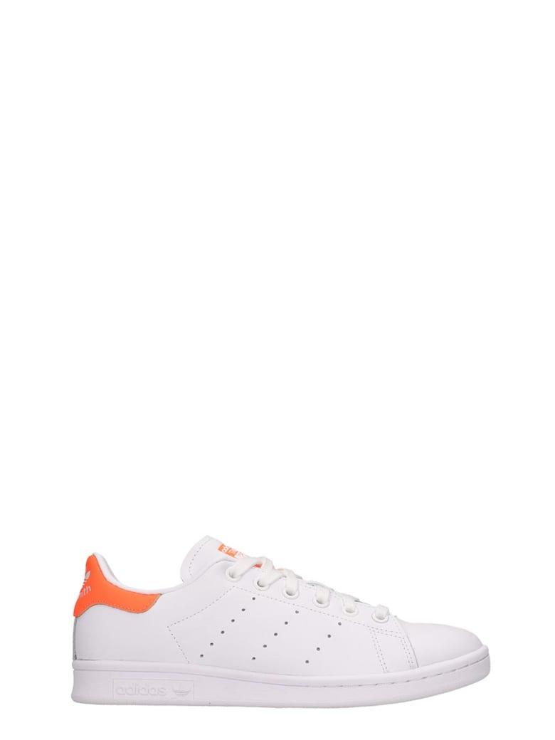 Adidas Stan Smith W Sneakers In White Leather - white