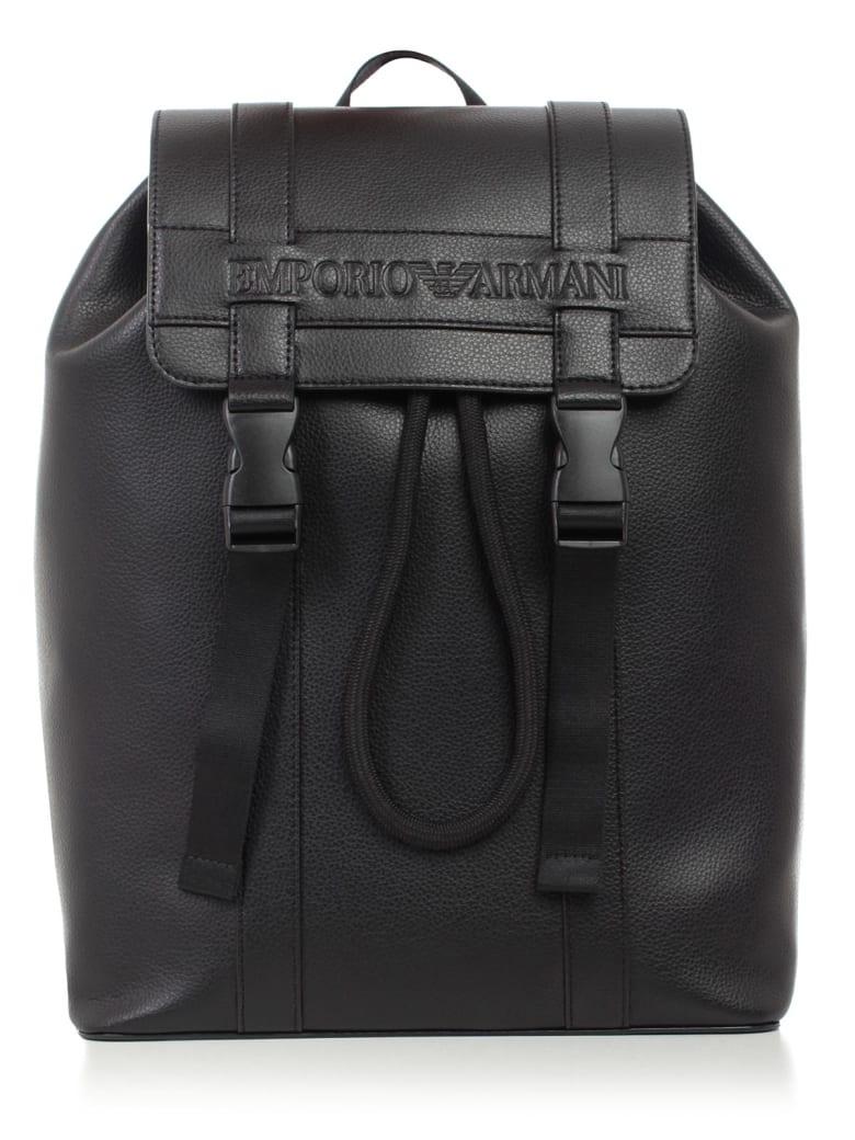 Emporio Armani Backpack - Black