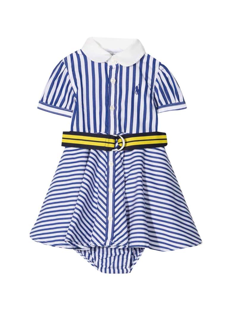 Ralph Lauren Striped Dress - Blu/bianco