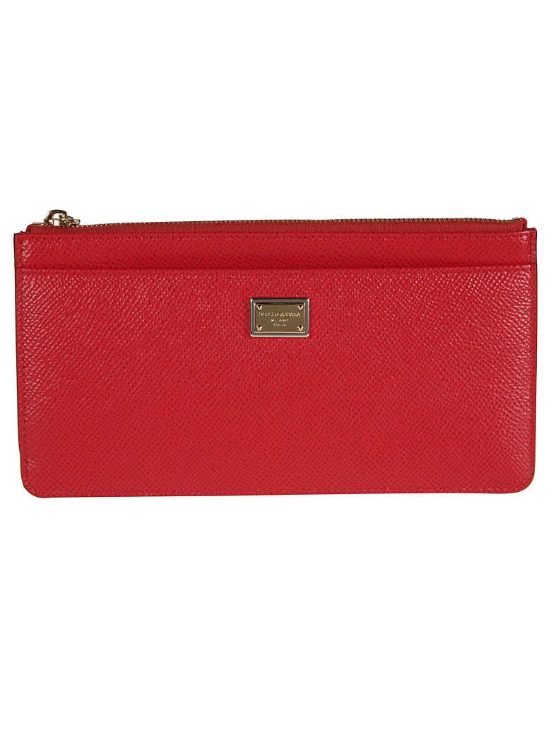 Dolce & Gabbana St. Dauphine Card Holder - Red