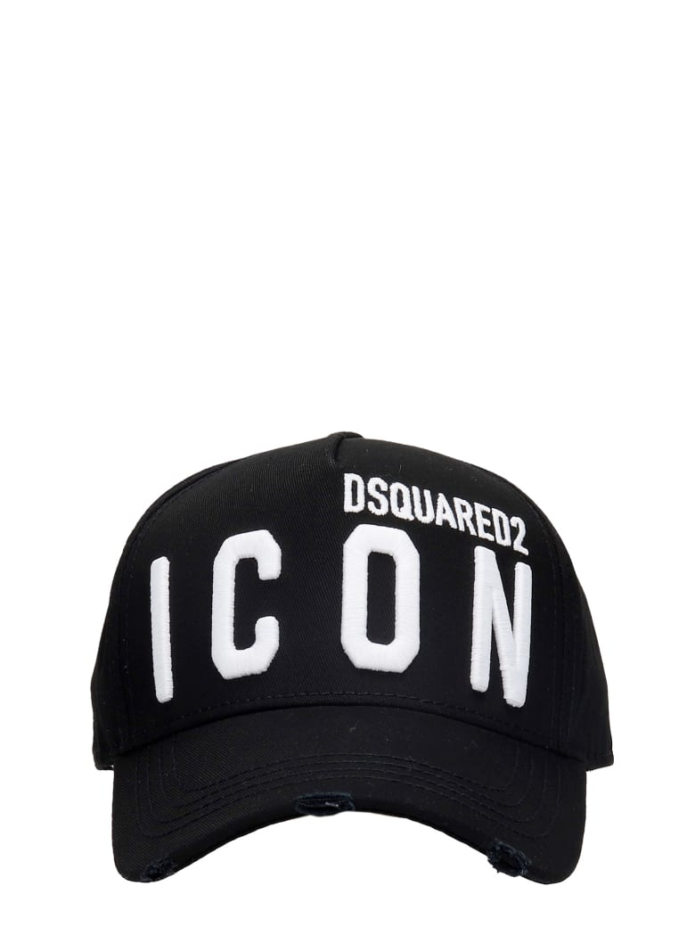 Dsquared2 Hats In Black Cotton