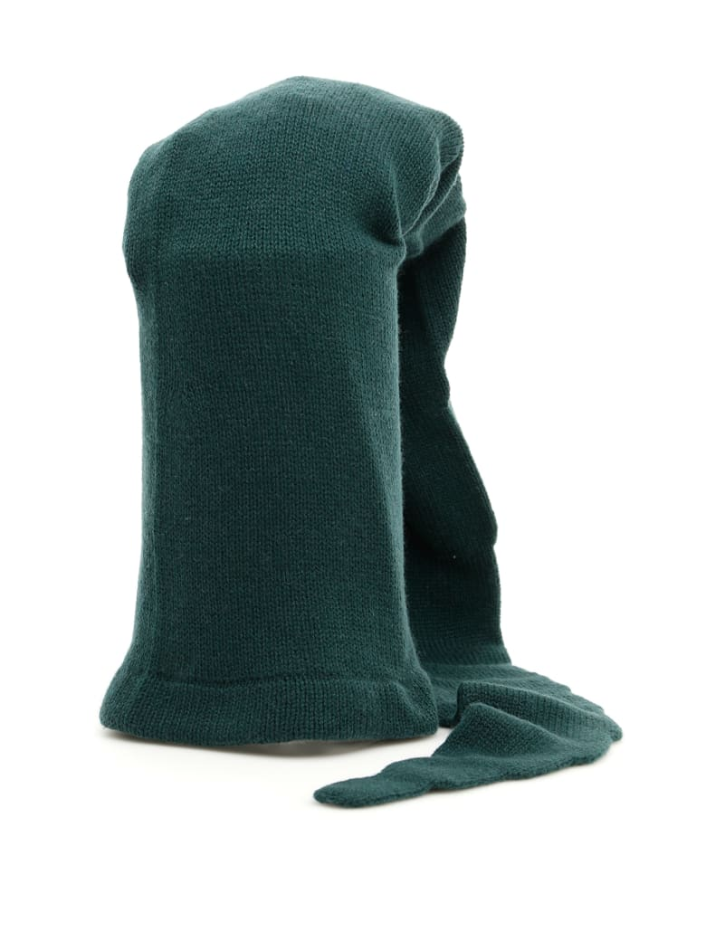 Flapper Extra Long Atena Hat - BASALT (Green)