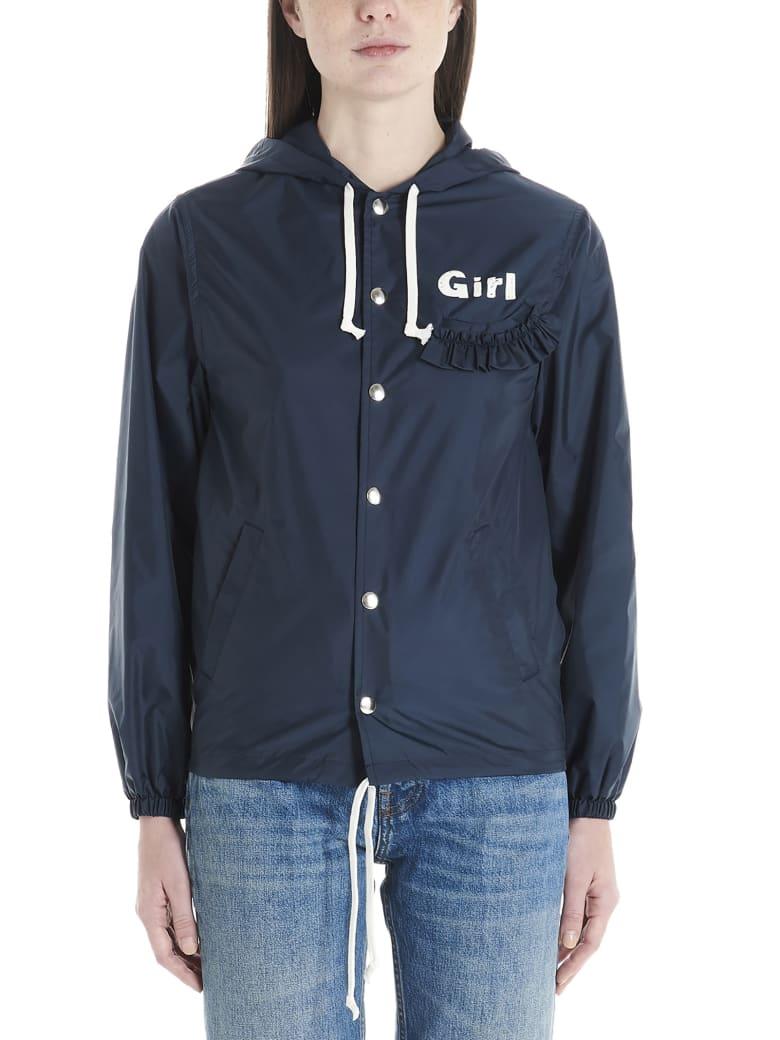 Comme Des Garçons Girl K-way - Blue