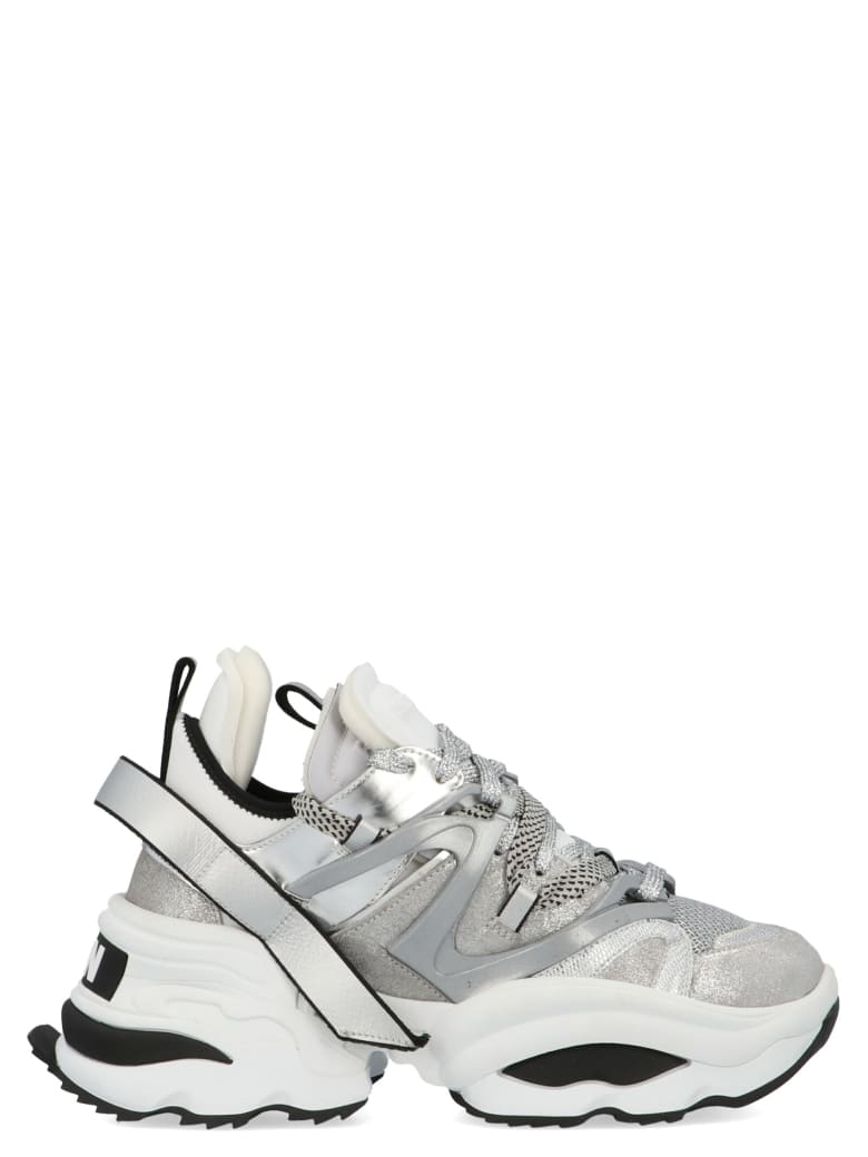 Dsquared2 'the Giant' Shoes - Silver