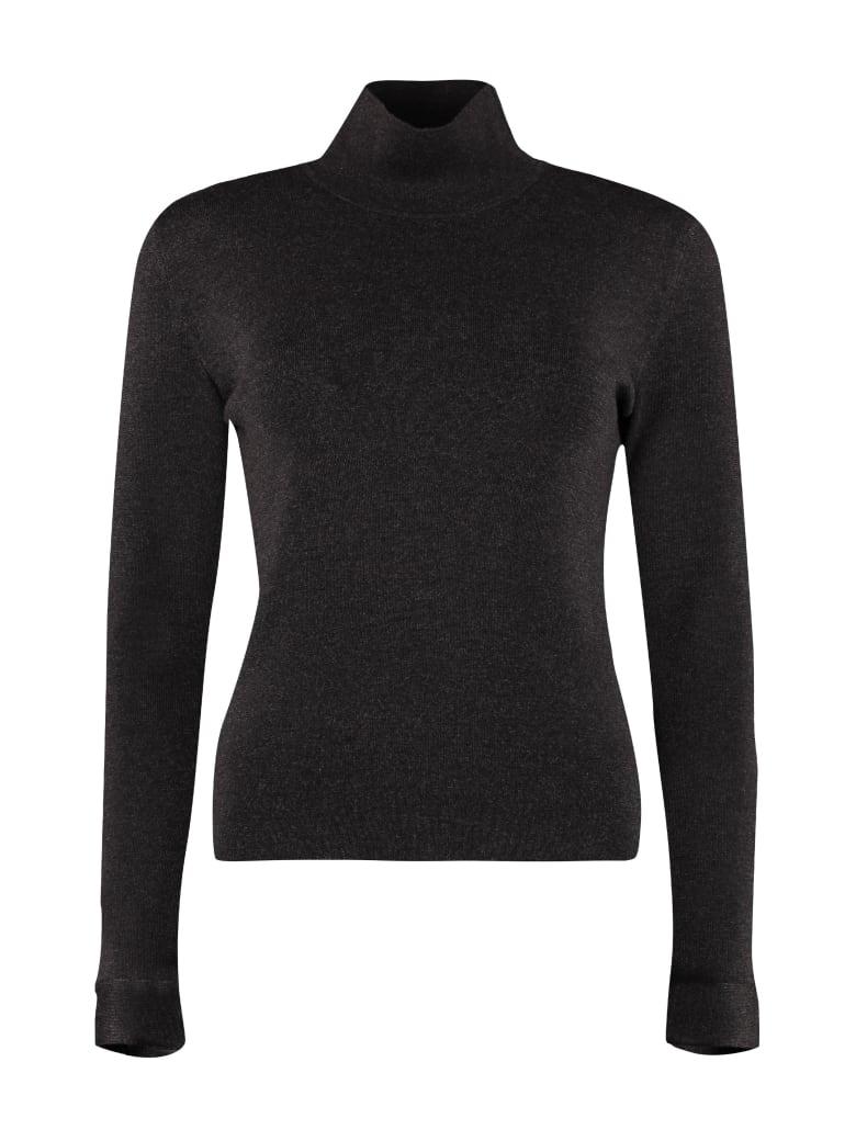Agnona Wool Turtleneck Sweater - grey