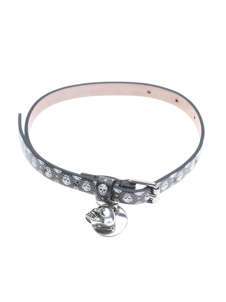 Alexander McQueen Black Skull Bracelet - Black