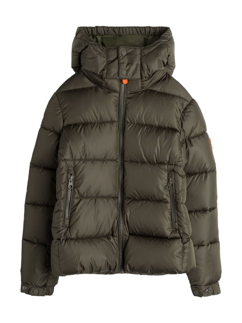 Save the Duck Ecological Nylon Down Jacket - Green