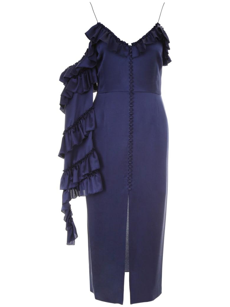 Magda Butrym Pozallo Dress - NAVY (Blue)