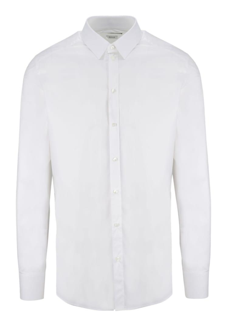 Dolce & Gabbana Stretch Shirt - White
