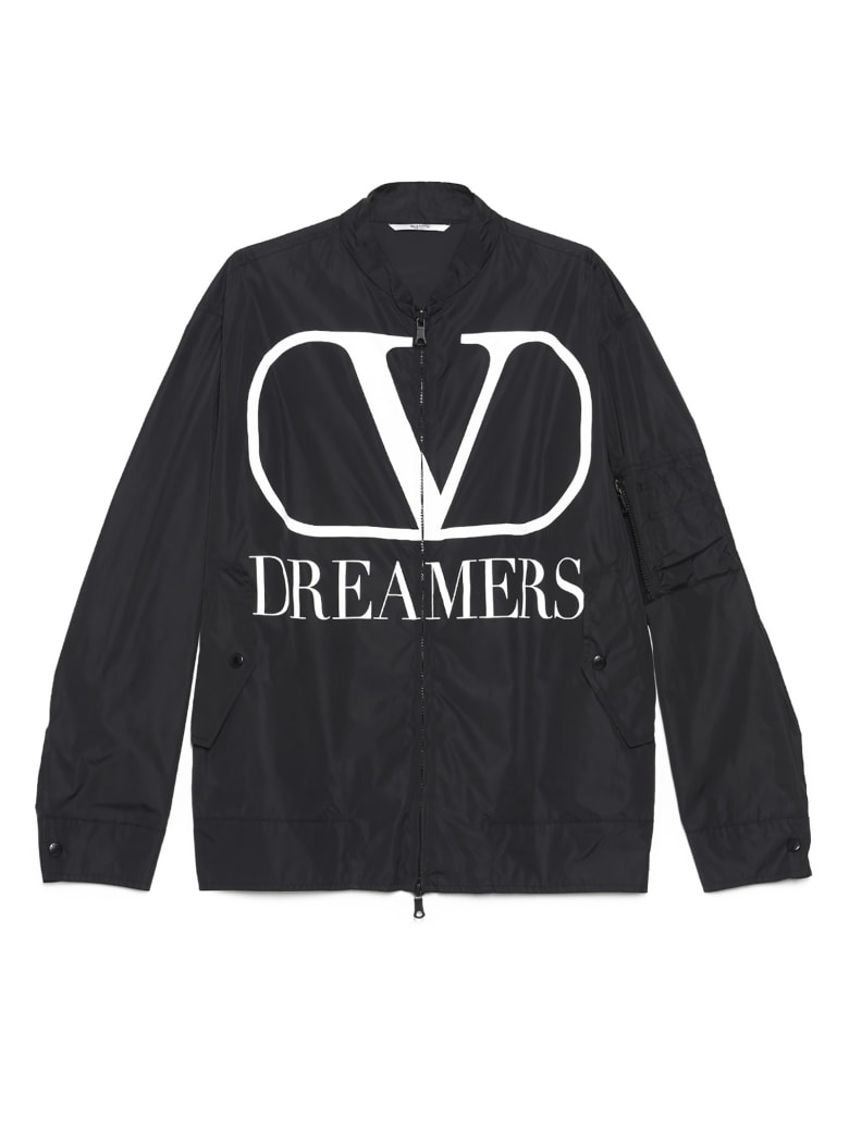 Valentino 'dreamers' K-way - Black