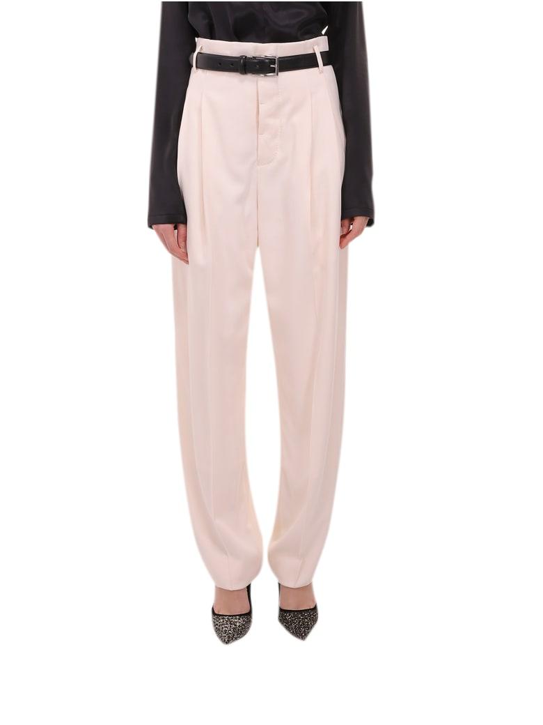 Haider Ackermann Cream Trousers - Cream
