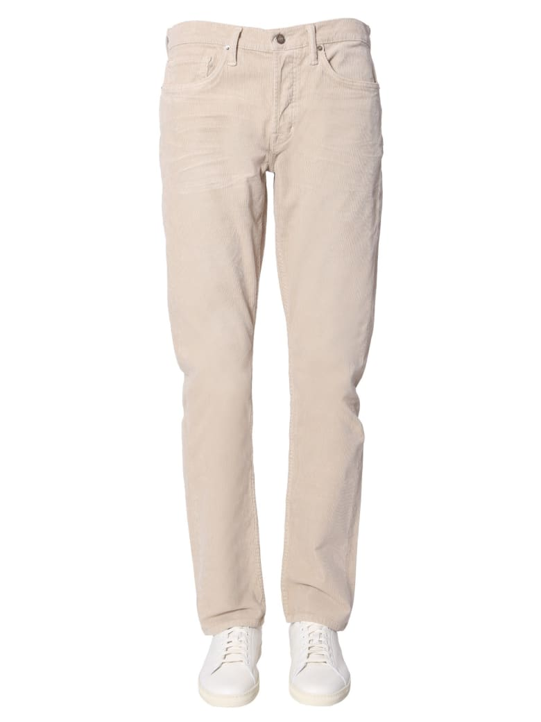 Tom Ford Corduroy Trousers - BEIGE