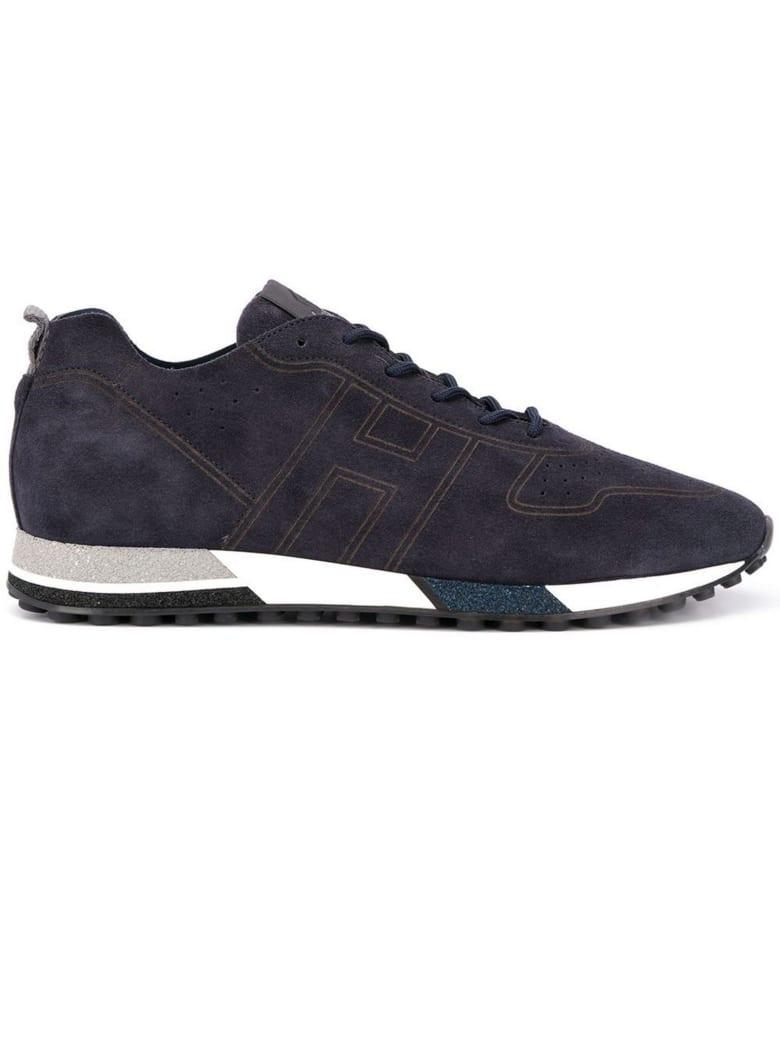 Best price on the market at italist | Hogan Hogan H383 Blue Sneakers