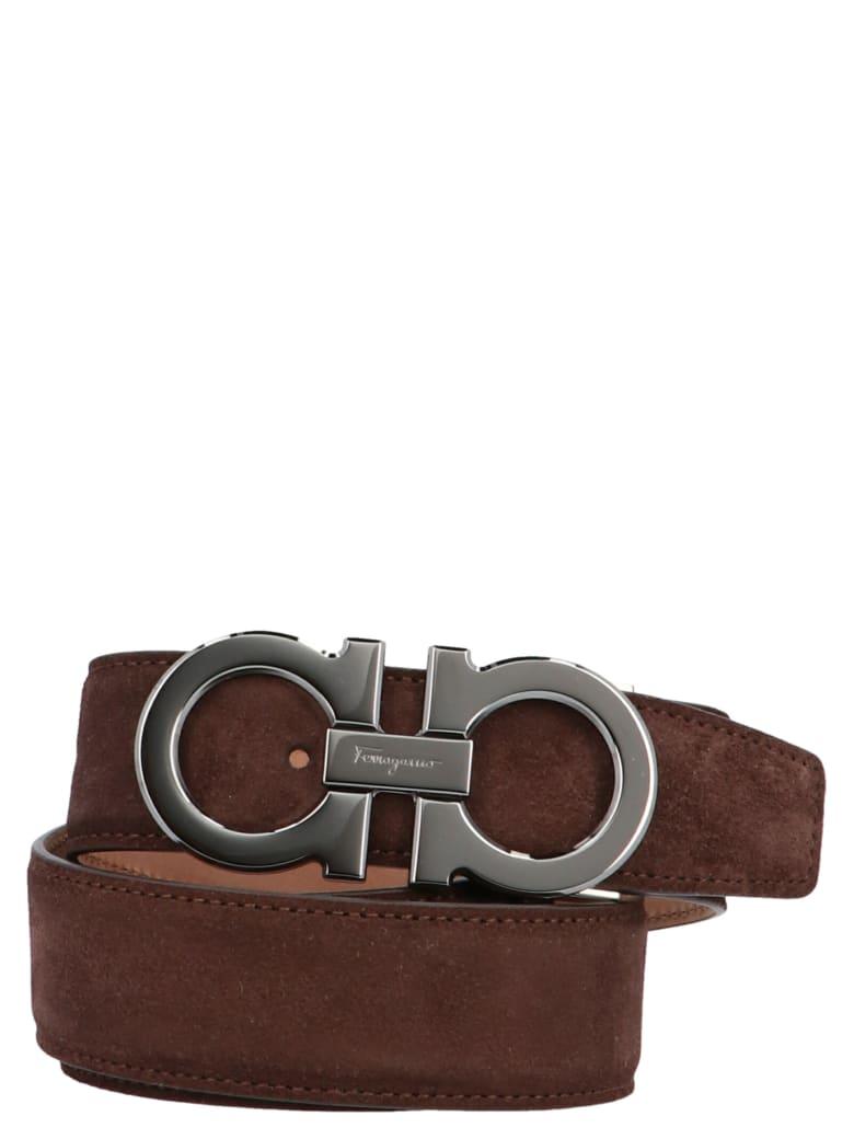 Salvatore Ferragamo 'single' Belt - Brown