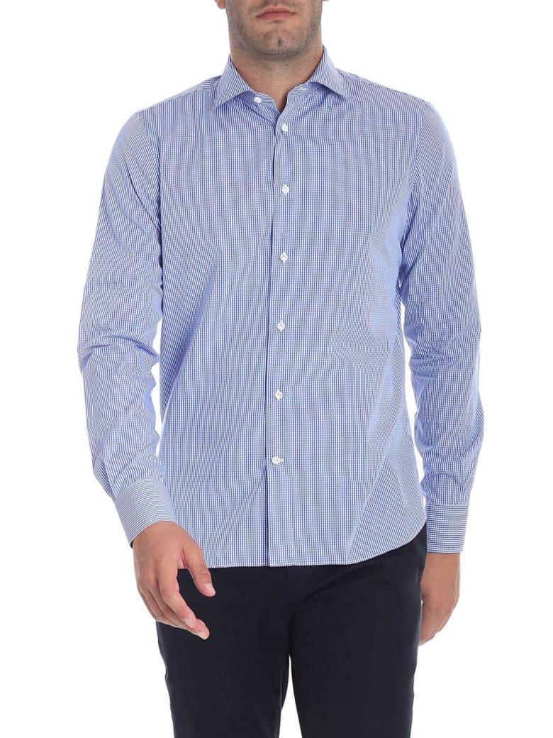 G. Inglese Cotton Shirt - Light blue