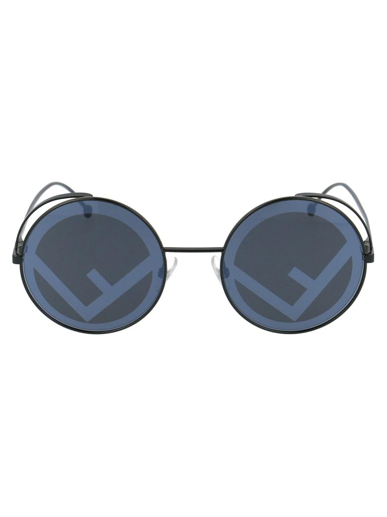 Fendi Ff 0343/s Sunglasses - 807MD BLACK
