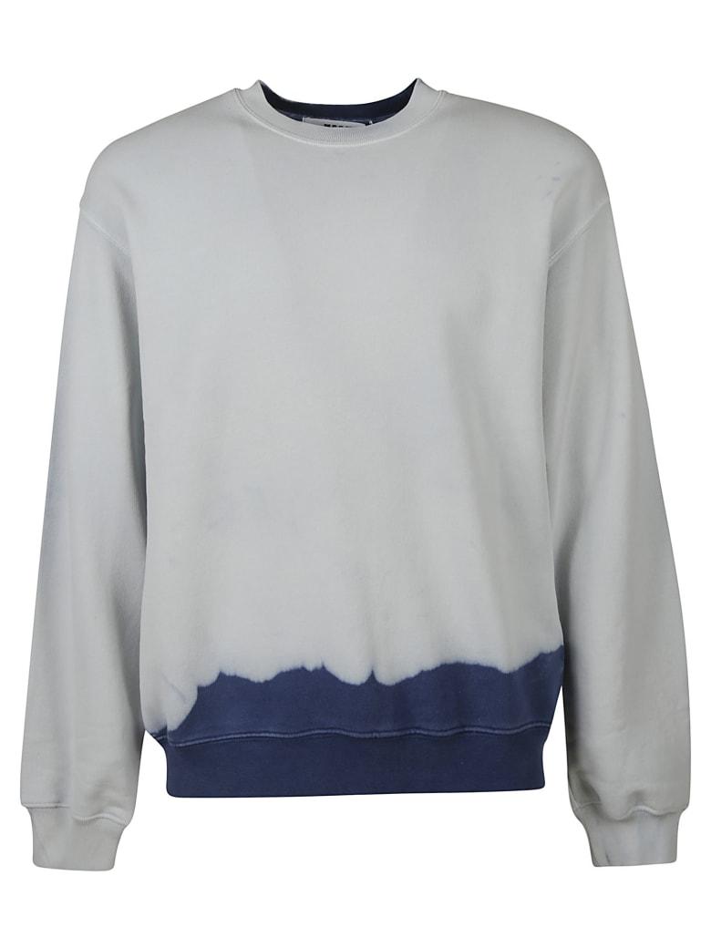 MSGM Back Logo Sweatshirt - Light Blue