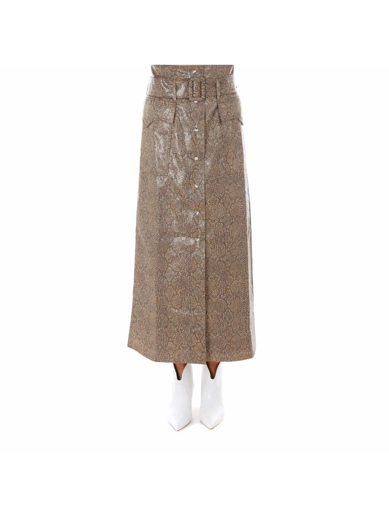 Nanushka Skirt - Brown