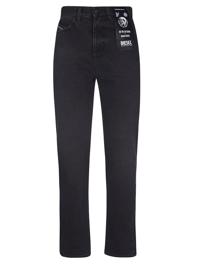 Diesel Logo Jeans - Black