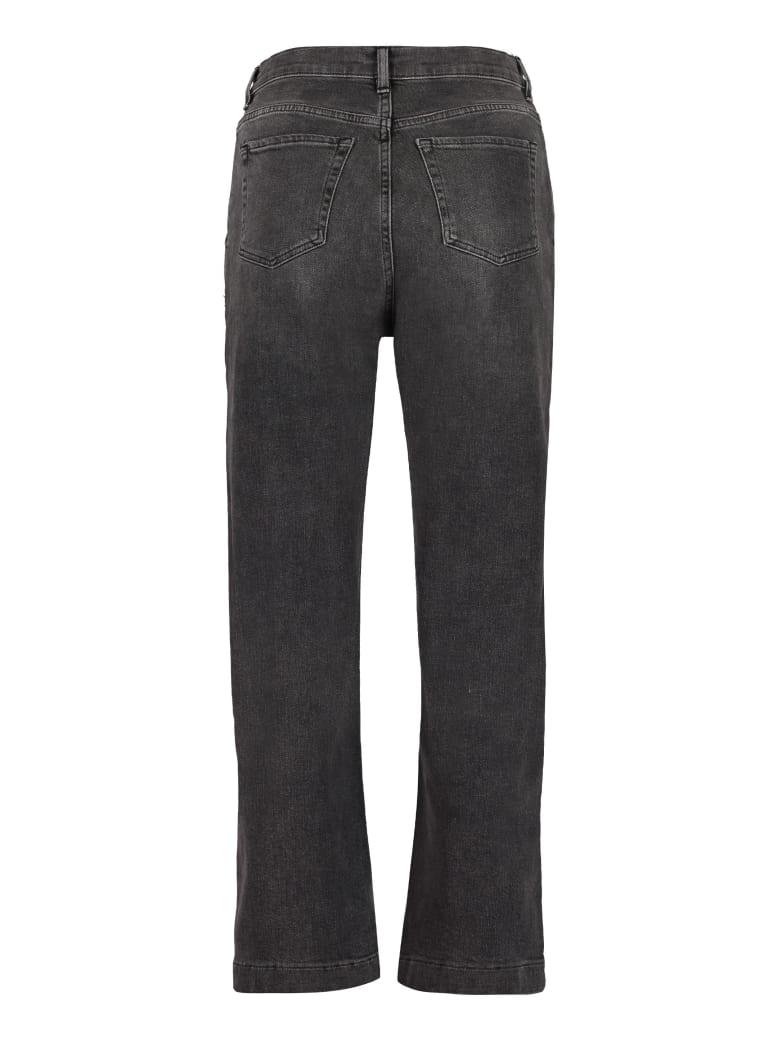 3x1 Cropped Jeans - black